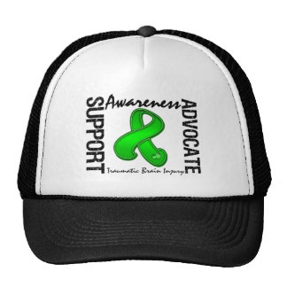 Support Awareness Advocate Traumatic Brain Injury Trucker Hat