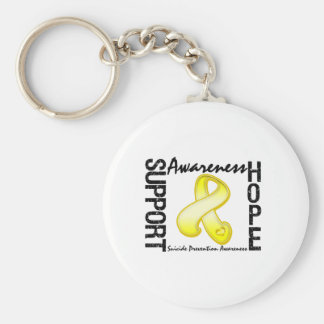 Support Awareness Hope Suicide Prevention Key Chains