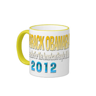 Support Barack Obama 2012 Ringer Mug