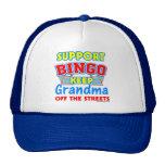 Support Bingo Grandma Hats