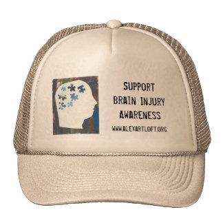 Support Brain Injury Awareness Cap
