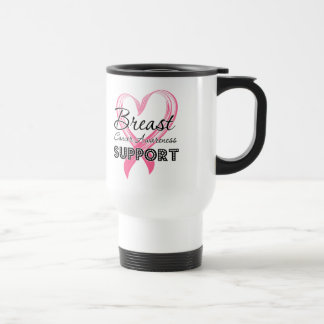 Support Breast Cancer Awareness Coffee Mugs