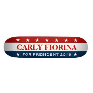 Support Carly Fiorina for President 2016 Skate Board Decks