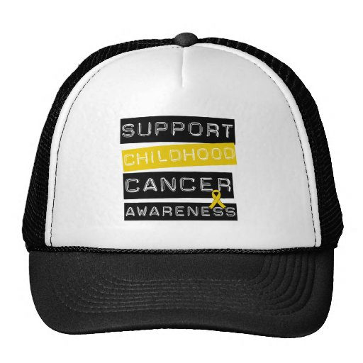 Support Childhood Cancer Awareness Hats