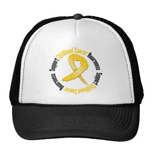 Support Childhood Cancer Awareness Mesh Hat