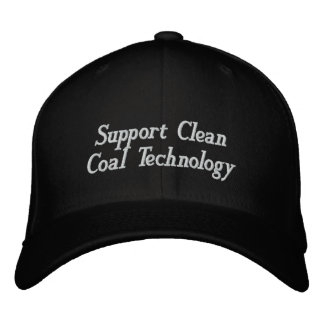 Support Clean Coal Technology Embroidered Baseball Cap