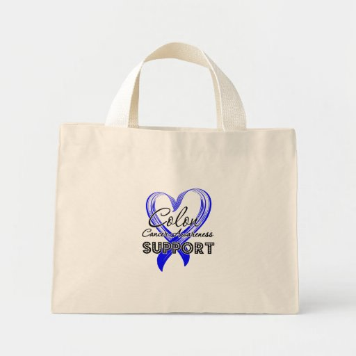 Support Colon Cancer Awareness Bag