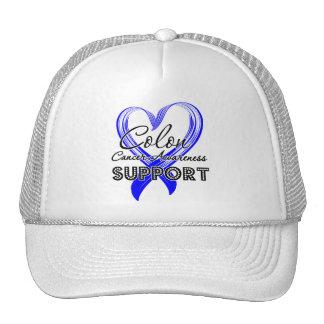 Support Colon Cancer Awareness Trucker Hats