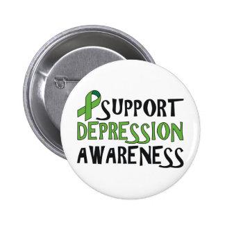 Support Depression Awareness 6 Cm Round Badge