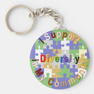 Support Diversity in My Community Keychain
