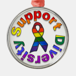 Support Diversity Ornament