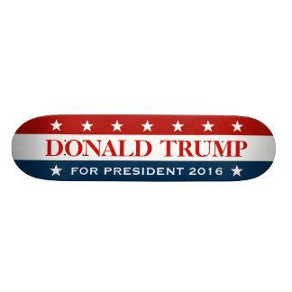 Support Donald Trump for President 2016 Skate Board Decks