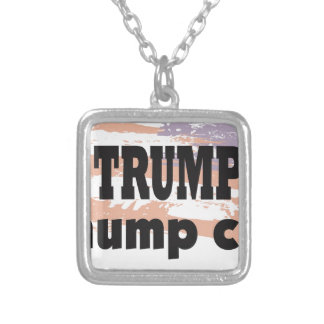 Support Donald Trump With This Great Product Square Pendant Necklace