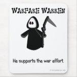 Support (ending) the war effort mousemat