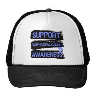 Support Esophageal Cancer Awareness Grunge Trucker Hats
