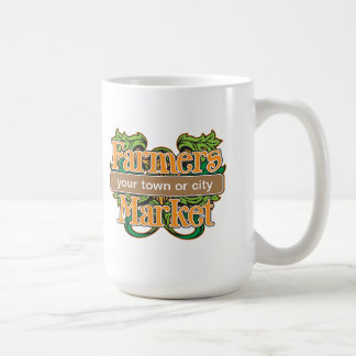 Support Farmers Market Basic White Mug