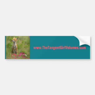 Support Fox Betty bumper sticker