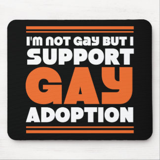 Support Gay Adoption Mouse Pad