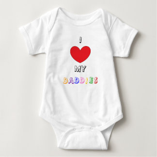 Support Gay Marriage Baby Bodysuit