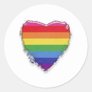 Support Gay Marriage Round Sticker