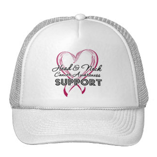 Support Head and Neck Cancer Awareness Hats