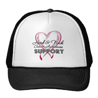 Support Head and Neck Cancer Awareness Trucker Hat