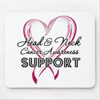 Support Head and Neck Cancer Awareness Mousepads