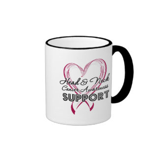 Support Head and Neck Cancer Awareness Mug