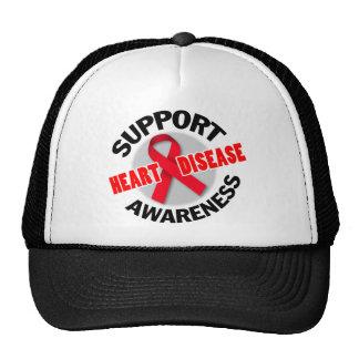 Support Heart Disease Awareness Seal Trucker Hat