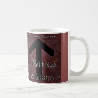 Support Heathen Declaration 127 Coffee Mug
