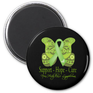 Support Hope Cure - Non-Hodgkins Lymphoma 6 Cm Round Magnet
