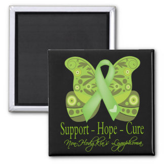 Support Hope Cure - Non-Hodgkins Lymphoma Square Magnet