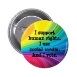 Support Human Rights Button