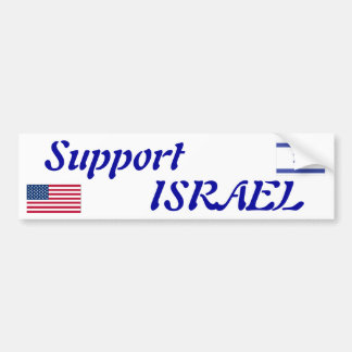 Support Israel Bumper Sticker