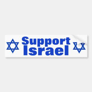 Support Israel Bumper Sticker