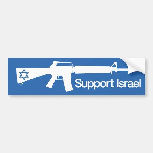 Support Israel - Gaza Hamas Conflict sticker Bumper Stickers