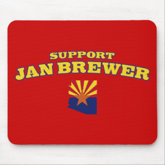 Support Jan Brewer Mouse Pad