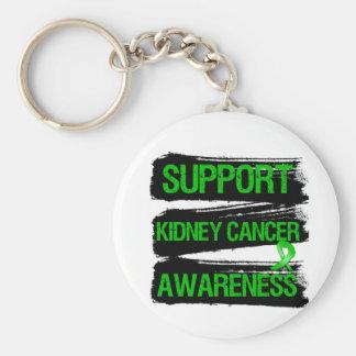 Support Kidney Cancer Awareness Grunge Keychain