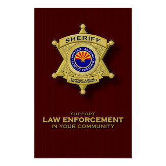 Support Law Enforcement poster
