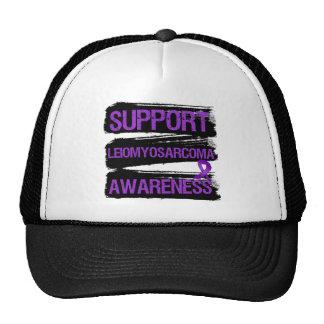 Support Leiomyosarcoma Awareness Grunge Hat