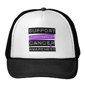 Support Leiomyosarcoma Awareness Trucker Hat