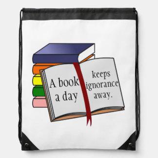 Support literacy Encourage reading Books Rucksacks