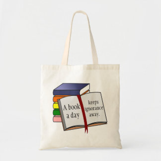 Support literacy Encourage reading Budget Tote Bag