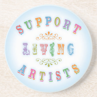 Support Living Artists Coasters