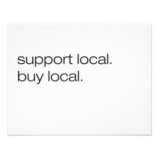 Support Local Buy Local Invites