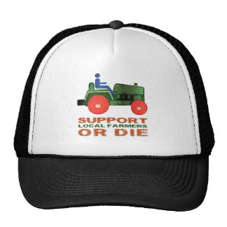 Support Local Farmers or Die Mesh Hat