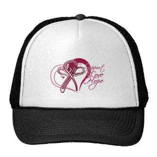 Support Love Hope - Head and Neck Cancer Trucker Hats
