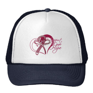 Support Love Hope - Head and Neck Cancer Trucker Hat