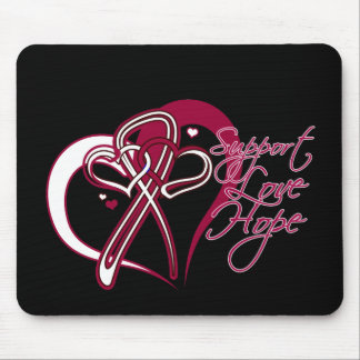 Support Love Hope - Head and Neck Cancer Mousepad