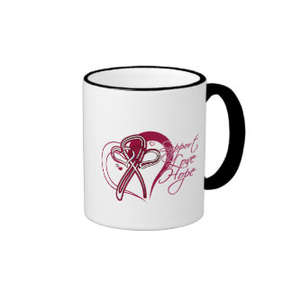 Support Love Hope - Head and Neck Cancer Coffee Mugs